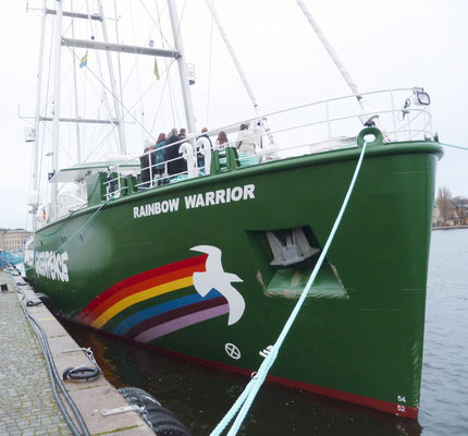 the new Rainbow Warrior III.