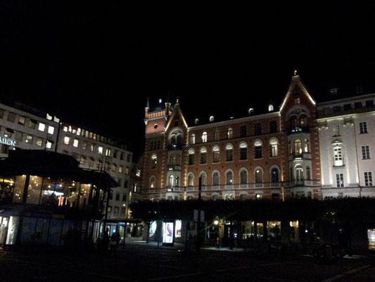Norrmalmstorg by night