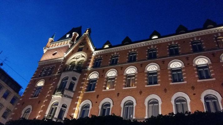 Stockholm by night (Norrmalmstorg)