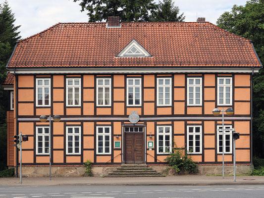 Blick auf das Fachwerkhaus Museum Soltau
