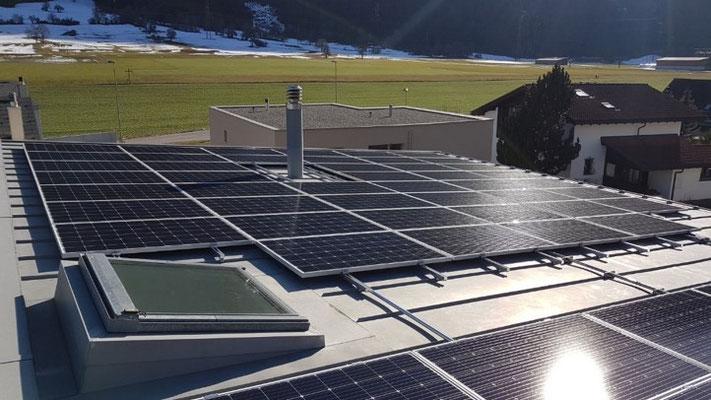 PV Aufdachanlage Domat/Ems 30 KWp
