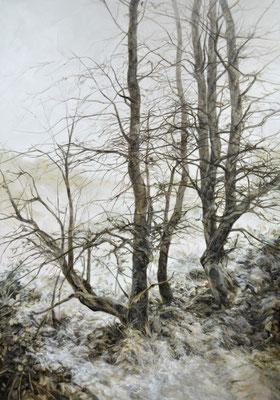 Dénué - fév20 - huile sur toile, 250x180cm