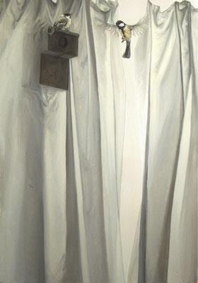 nos vieux jours - juil11 - huile sur toile, 70x100cm