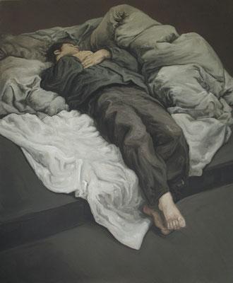 dormeur III - juin10 - huile sur toile, 130x160cm