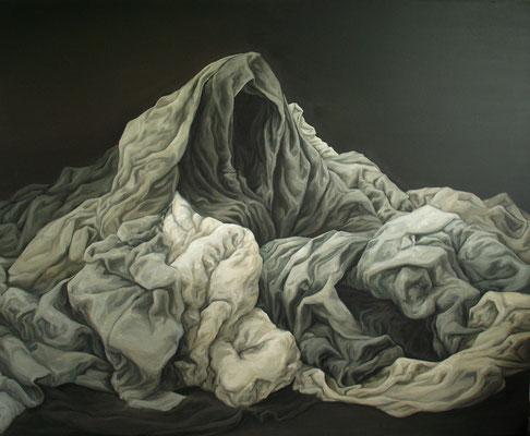 l'ermite - aout11 - huile sur toile, 160x130cm