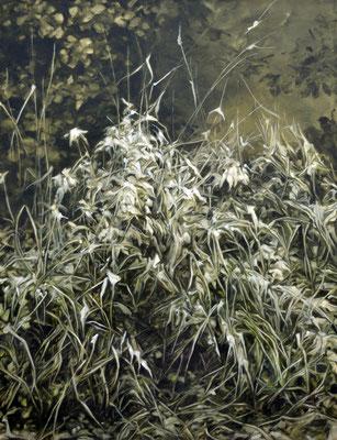 we exist - mars20- huile sur toile, 130x100cm