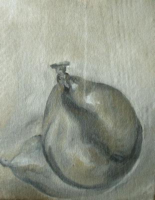 black ballon - sep11 - huile sur toile marouflée, 15x19,5cm