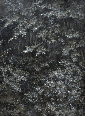l'étreinte - jan21 - huile sur toile, 140x190cm