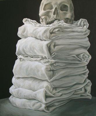 une vie bien rangée II - avr12 - huile sur toile, 45x56 cm