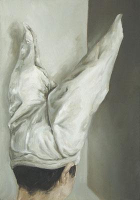l'idiot - fev10 - huile sur toile, 42x60cm
