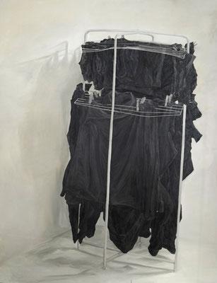 HangedUp - nov13 - huile sur toile, 150x190cm