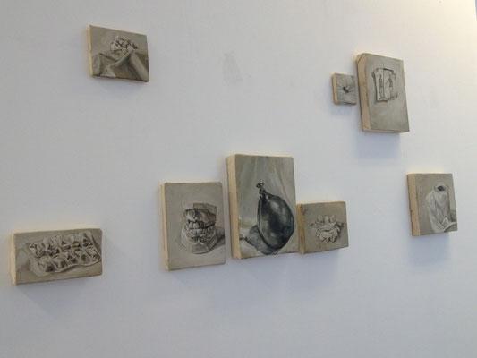 les maux - exposition POST MORTEM, Castel Coucou