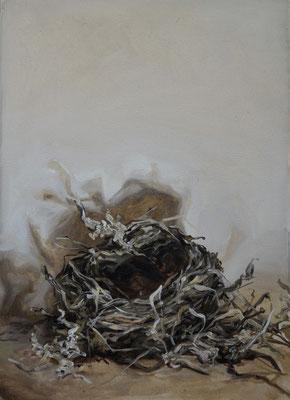 nid II - sep15 - huile sur toile, 42x29cm