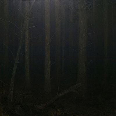 noctune II - oct13 - huile sur toile, 180x180cm