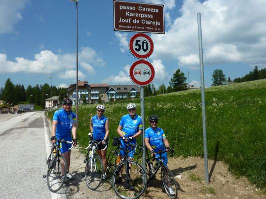 Das erste Passbild unserer Newcomer - Jörg, Gudula, Siggi & Edwin