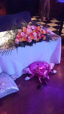 高砂に置く装飾花の実績3