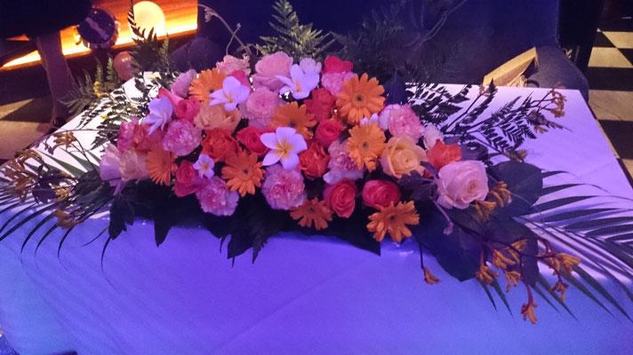 高砂に置く装飾花の実績1