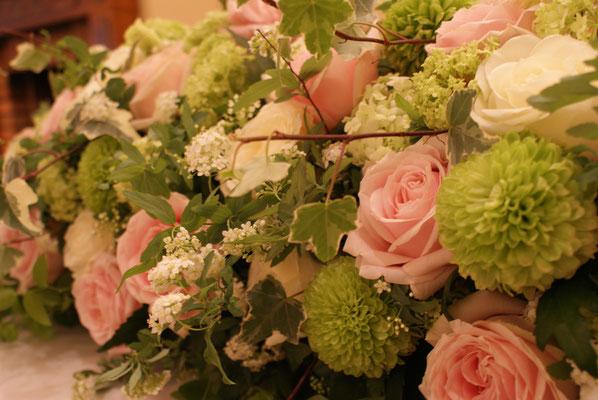 高砂に置く装飾花の実績7