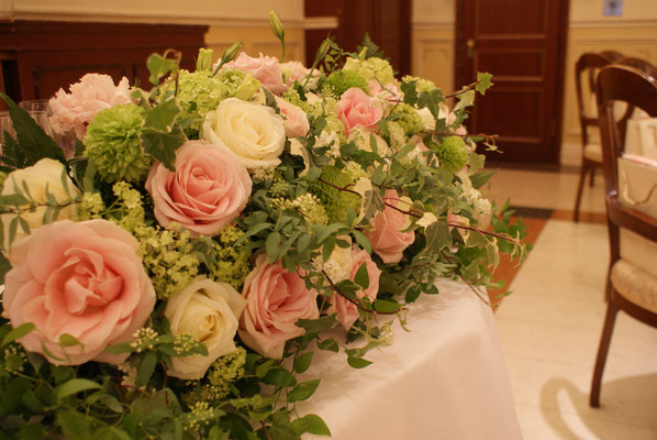 高砂に置く装飾花の実績5