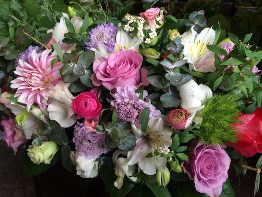 高砂に置く装飾花の実績9