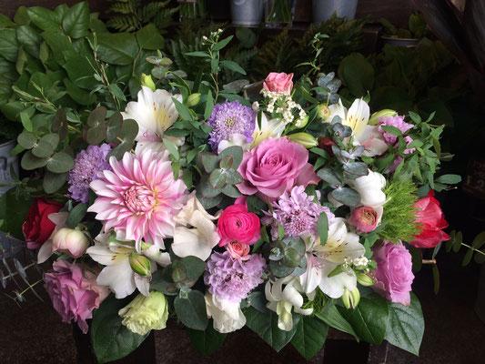 高砂に置く装飾花の実績8