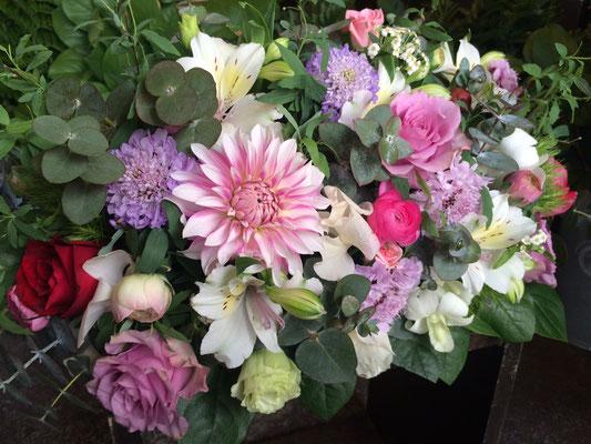 高砂に置く装飾花の実績11