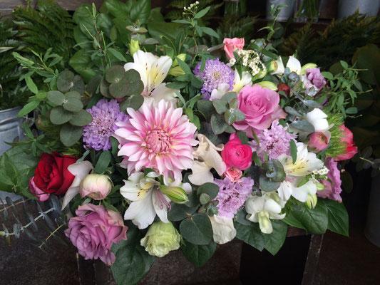 高砂に置く装飾花の実績10