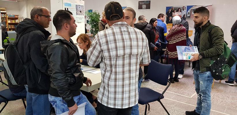 Jobfair Work for Refugees Oct. 2018