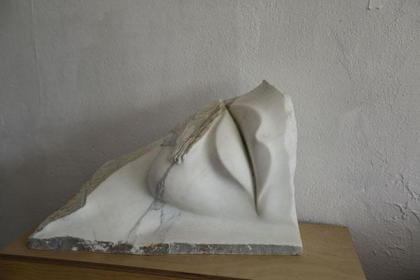 Skulptur Lippe Urs Imhof Bildhauer