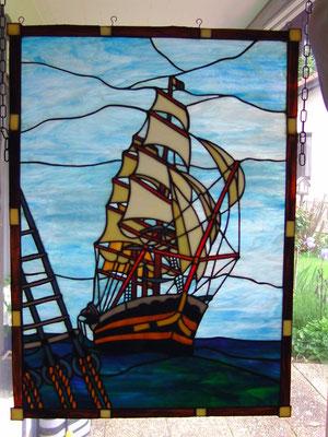 Segelschiff, Tiffany