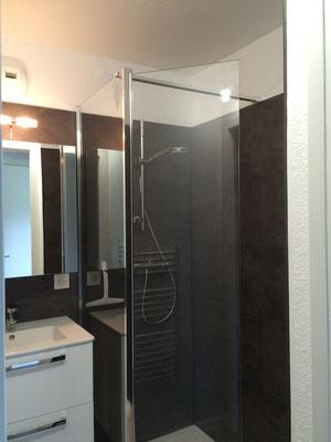 Rénovation d'une salle de bain en salle d'eau
