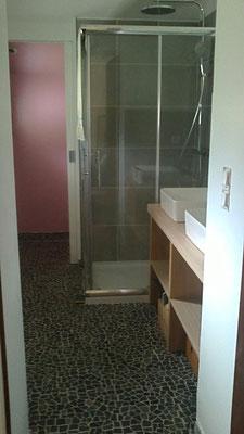 Rénovation salle de bain n°2 avec création d'un wc