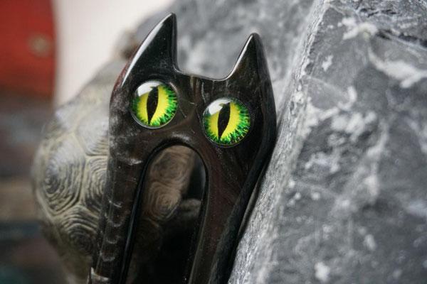 Felidae mit Augen