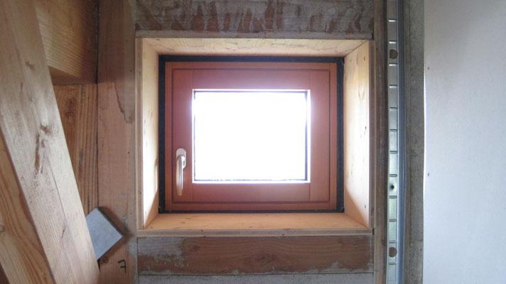 petite fenêtre au nord