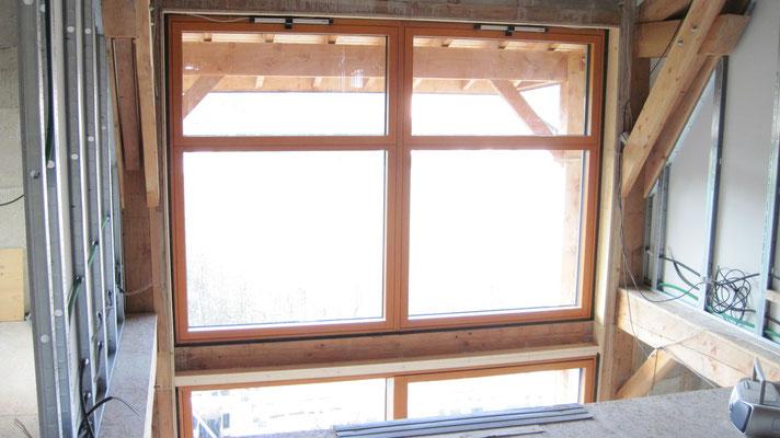 baie vitrée sud 1er étage