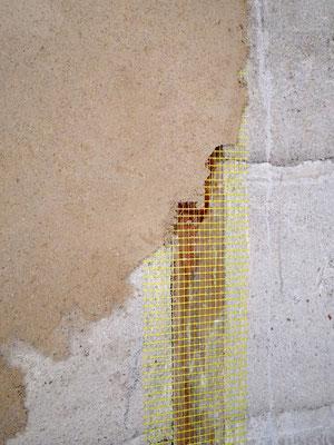 fibre de verre sur le bois pour l'accroche