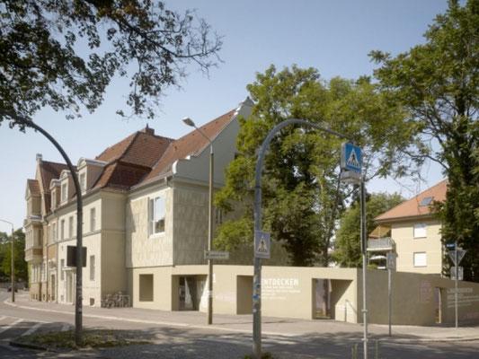UHPC facade - Kunststiftung Sachsen Anhalt
