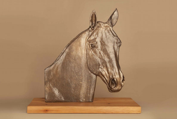 """Gift mare...."", 55 x 60 x 25 cm, 2019"