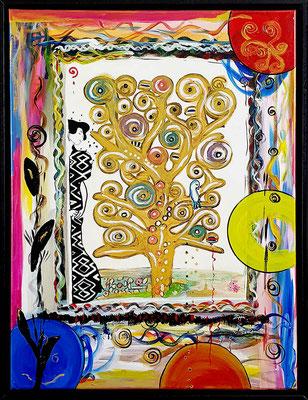 September, Hommage an Gustav Klimt