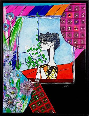 Juni, Hommage an Pablo Picasso