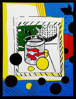 April, Hommage an Roy Lichtenstein