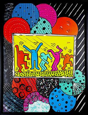 November, Hommage an Keith Haring