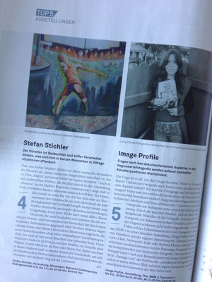 PR Journal Frankfurt April-Ausgabe – Stefan Stichler Kosmos, RUBRECHTCONTEMPORARY galerie, Wiesbaden