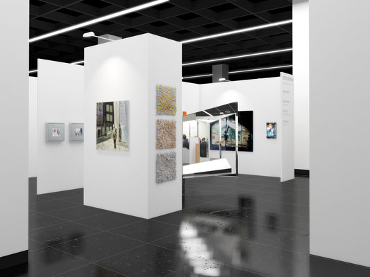 RUBRECHTCONTEMPORARY 3d-Messestand Art.Fair + Blooom 2016 Cologne | mit Stichler – Wiedermann – Weingärtner – Mögelin, Köln
