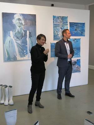 Kuratoren Juan Xu und Leander Rubrecht / Dritter PERFORMANCEDAY 2017, Wiesbaden / RUBRECHTCONTEMPORARY - KAISERANDCREAM - IO CULTURAL NETWORK EV.