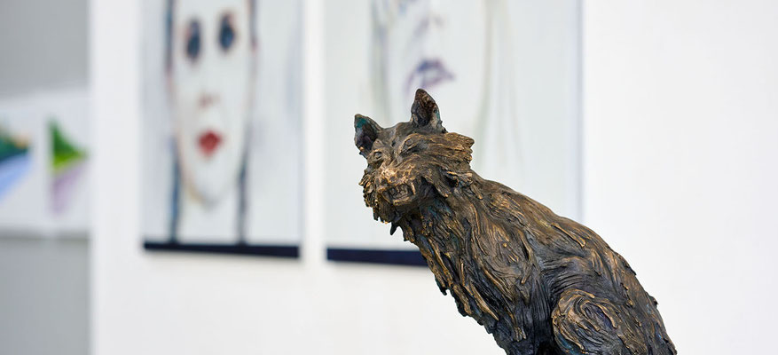Ausstellungsimpressionen | Manfred Maria Rubrecht MENSCH.NATUR, Galerie Rubrecht Contemporary
