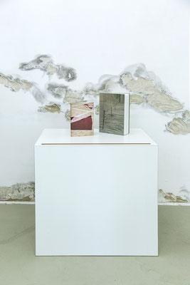 Ausstellungsansicht SILJA YVETTE (Buchpräsentation) in der Galerie, 2020