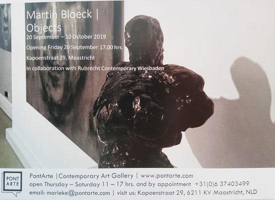 Vorankündigung: Martin Bloeck in Maastricht /Pontarte Gallery