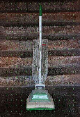 KC Kevin Clarke,  New Koons Fallen Virgin Vac, digital print, 2014, 116 x 76 cm, Editon 5