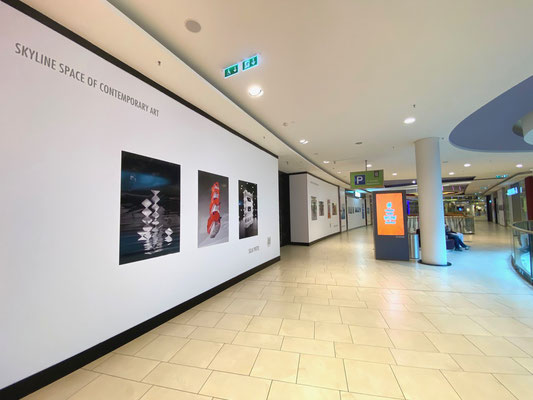 Skyline Space of Contemporary Art, Artist: Silja Yvette, Quelle ECE Marketplaces